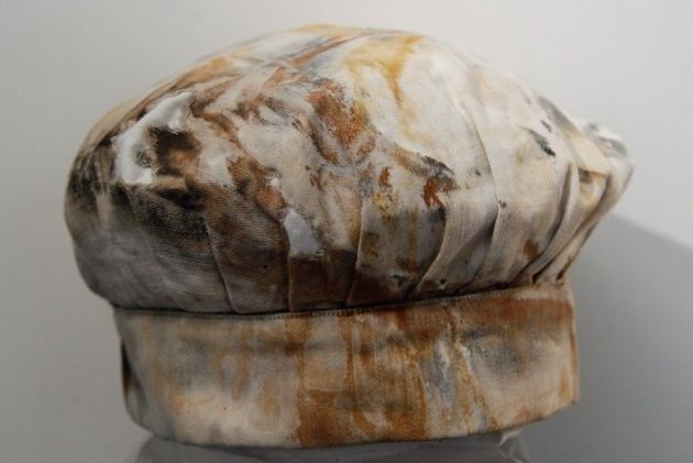 Titanic artifacts  A baker's hat belonging to third baker William E. Hine from the RMS Titanic Inc. on display at Guernsey's Auctioneers & Brokers.      Twitter      0        StumbleUpon        Email    Print    Read more: www.nydailynews.c...
