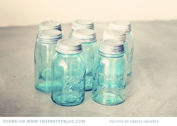 Turquoise jars http://toneitup.com/blog.php?Tone-It-Up-Wedding-Series-5707