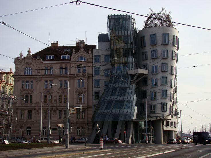 Ginger & Fred, projeto dos arquitetos Vlado Milunić e Frank Gehry