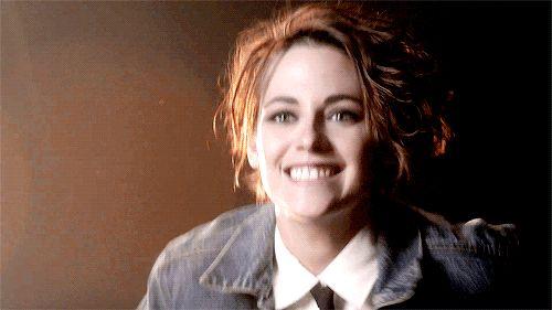 Kristen Stewart in 9 Kisses Video