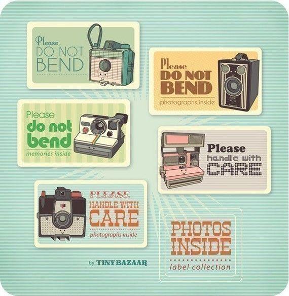 printable labels, adorable!