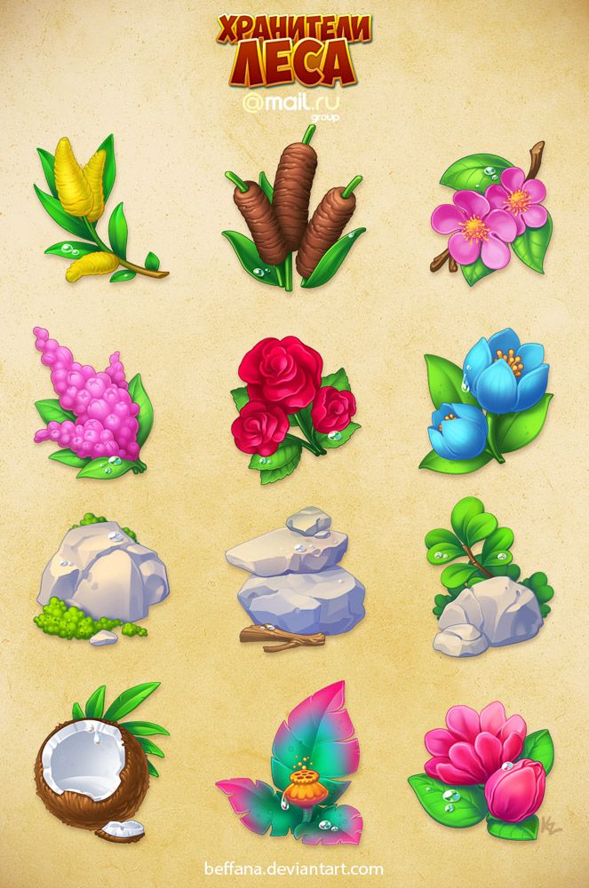 Forestkeepers icons pack 2 by Beffana.deviantart.com on @DeviantArt
