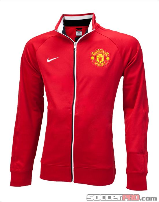 Nike Manchester United Core Trainer Jacket - Diablo Red...$74.99