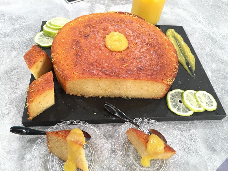 Λεμονόπιτα με σιρόπι και απίστευτη κρέμα λεμόνι από την Αργυρώ Μπαρμπαρίγου
