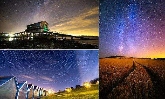 Amazing images of the Milky Way captured by Isle of Wight photographer