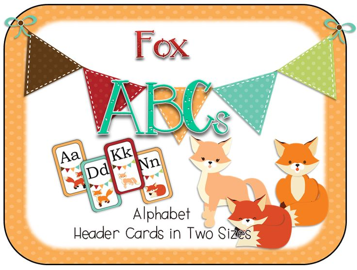 103 Best Fox Woodland Classroom Theme Images On Pinterest