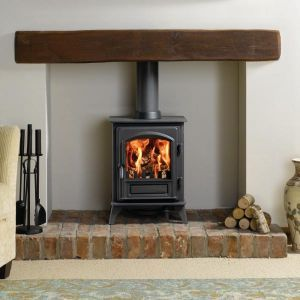 Simple, yet elegant. Woodburners are a true and practical feature for any living room.