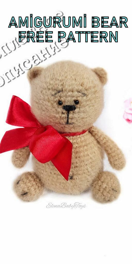 Crochet Teddy Bear - Free Pattern | Crochet teddy bear, Crochet ... | 1024x512