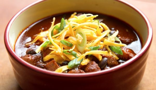Frontera's Award Winning Chili with Negra Modelo