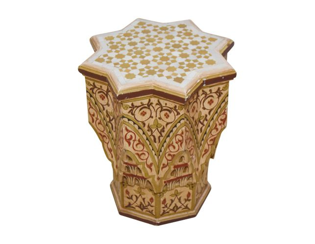 Antique Moroccan Side Table | The Local Vault