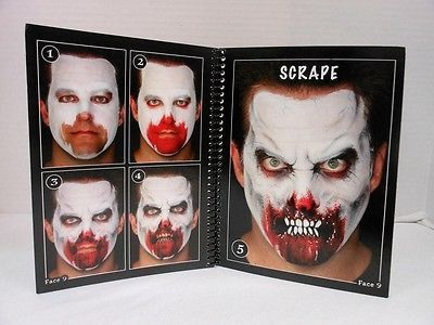 Wolfe Brothers Cheat Book Volume 2 Top Secret Horror Face Painting