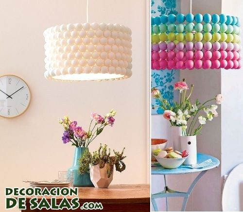 Ideas para hacer lámparas recicladas