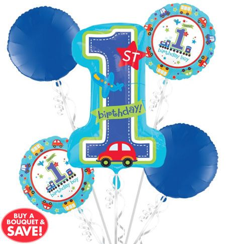 All Aboard 1st Birthday Party Supplies - 1st Birthday Party - Party City