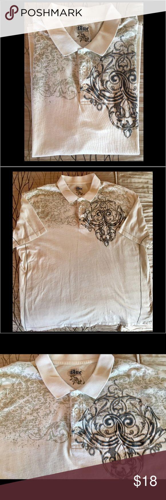 Men's cotton polo shirt. Pronto-Uomo men's XXL polo shirt. PRONTO UOMO Shirts Polos