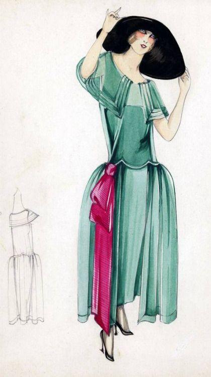 1655 besten 1920\'s fashion illustrations Bilder auf Pinterest ...