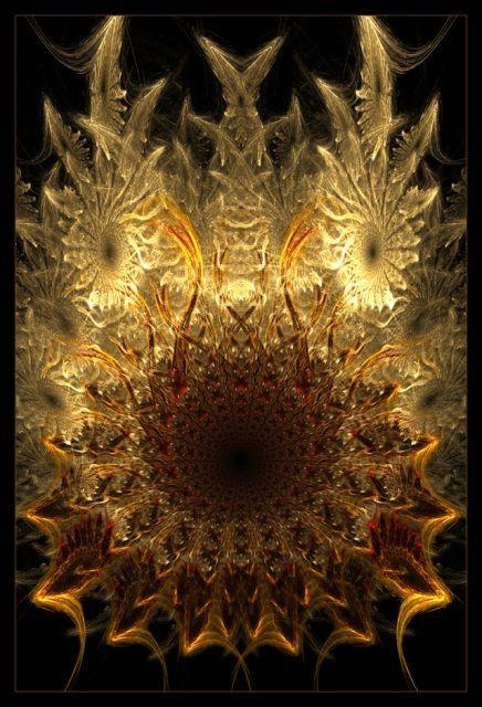 Abstract digital art gallery / fractal: Gyldan, by MelonLogic