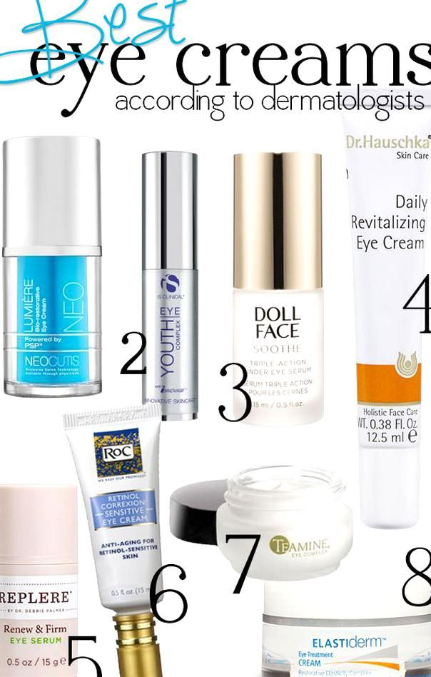 The Best Eye Creams Dermatologists Spill Their Favorite Ingredients And Products Followitfindit In 2020 Best Eye Cream Face Care Dermatologist