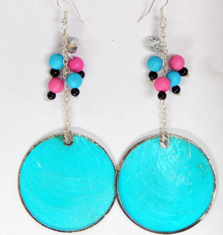 Statement drop earrings One-off design - Stand out this summer! $11.99AUD