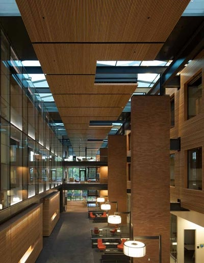 The Gorgeous Interior Of Paccar Hall University Of Washington Foster School Of Business