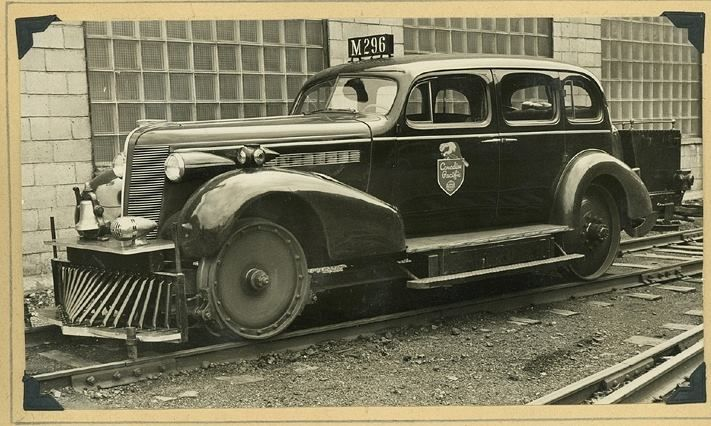 Canadian pacific railway 39 s car m 296 was a 1938 buick used for Eastern motors used car