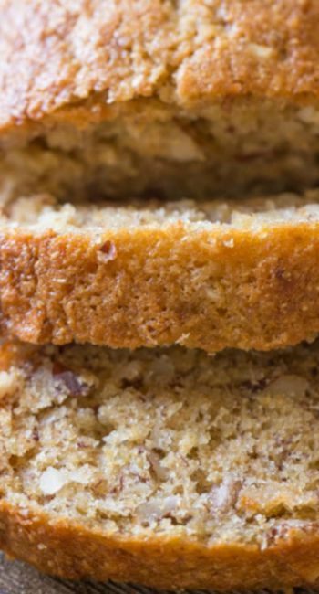 Healthier Banana Bread | Our favorite banana bread made with Greek yogurt, coconut oil, and white whole wheat flour.
