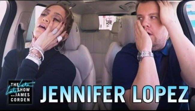 Jennifer Lopez Carpool Karaoke With James Corden. #jlo #jenniferlopez #jamescorden #celebrities