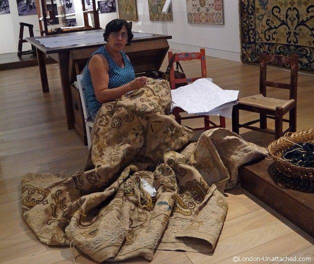 Tapetes de Arraiolos, Rug Making Arraiolos, Alentejo, Portugal