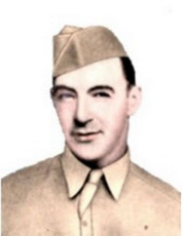 Valor award for CPL Edward G. Wilkin (1917-1945) US Army. Medal of Honor (posthumously) for conspicuous gallantry and intrepidity in action.... on 18 March 1945....during his unit's assault of the Siegfried Line in Germany. Through his superb fighting skill, dauntless courage, and gallant inspiring actions, Corporal Wilkin contributed in large measure to his company's success in cracking the Siegfried Line. One month later he was killed in action while fighting deep in Germany.