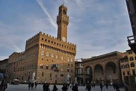 """Florence, """"Piazza della Signoria""""."""