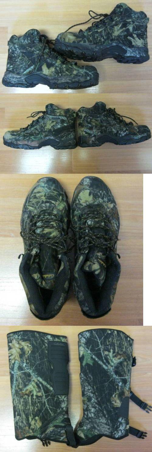 Hunting Footwear 153008: Cabelas Anti Venom Snake Boots Men Size Medium 10M Mossy Oak New -> BUY IT NOW ONLY: $89.99 on eBay!