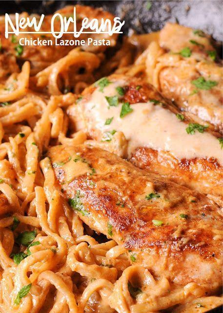 New Orleans Chicken Lazone Pasta Soul Food Pasta Chicken