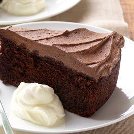 Eggless Chocolate Saute Pan Cake