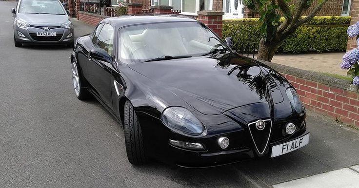 Someone Turned A Maserati Coupe Into An Alfa Romeo 8C - Any Takers? #Maserati #Used_Cars