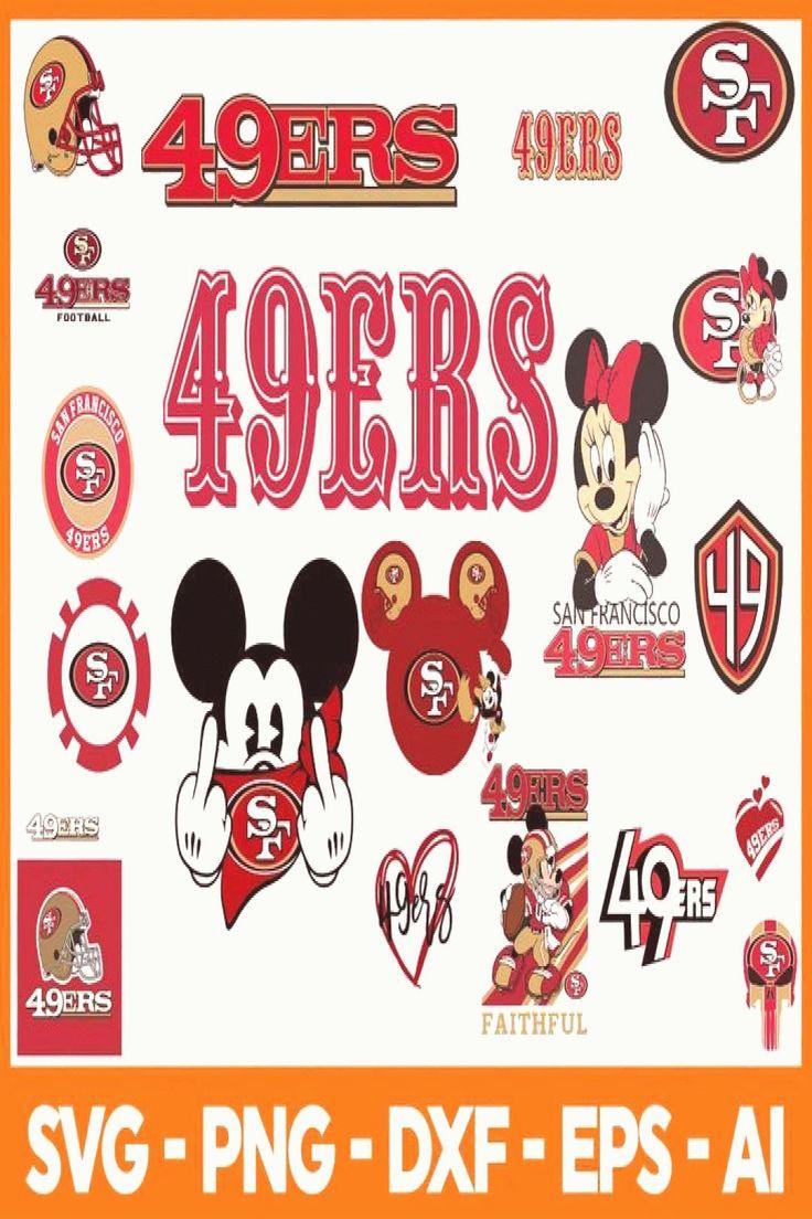 San Francisco 49ers Svg Nfl San francisco 49ers svg & san