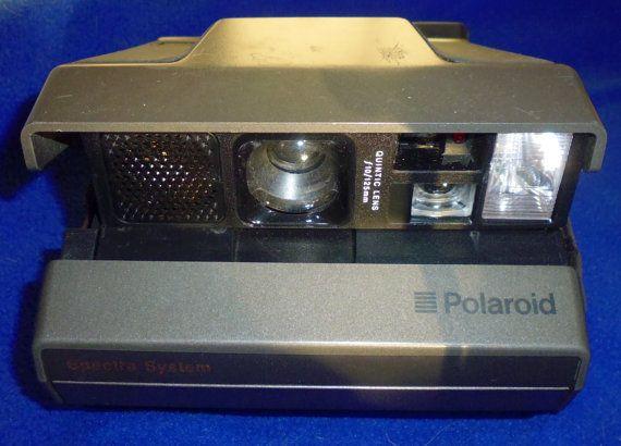 Polaroid Spectra System Camera Quintic 125mm lens1200 film