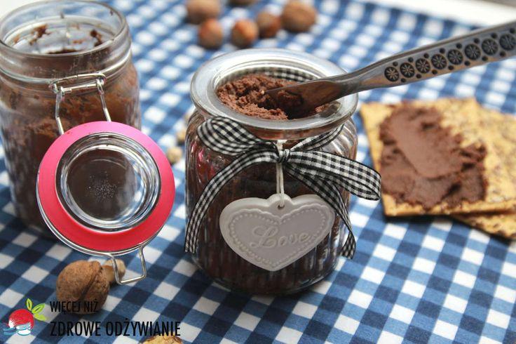 Więcej Niż Zdrowe Odżywianie Pasta czekoladowa z ciecierzycy - Oczyszczanie Organizmu