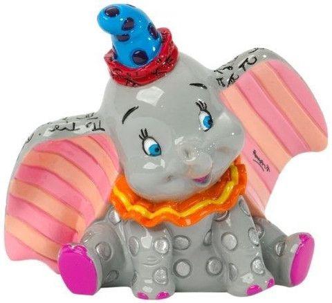 Dumbo Figurine. Mini. Disney by Britto.