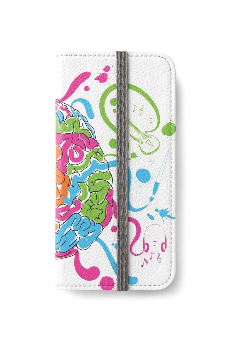 Brain Creativity Illustration by Gordon White   Creative Brain Chemistry iPhone 6s Wallet Available @redbubble @redbubblecreate  ---------------------------  #redbubble #sticker #brain #creative #creativity #chemistry #nerd #geek #cute #adorable #iphone #wallet  ---------------------------  http://www.redbubble.com/people/blackbox23/works/23716610-creative-brain-chemistry?p=iphone-wallet&phone_model=iphone_6s&cover_type=wallet&type=iphone_6s