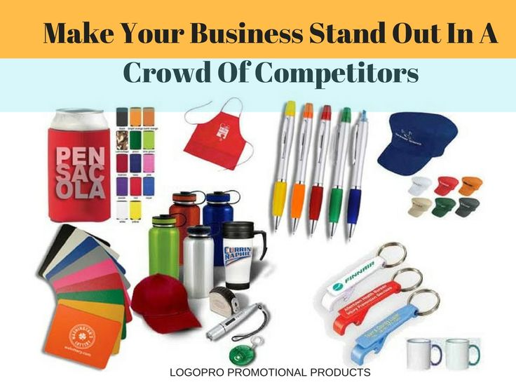 Make your Business stand out in a Crowd of Competitors: Logopro #Business #promotionalProducts #Promotionalideas #corporategifts