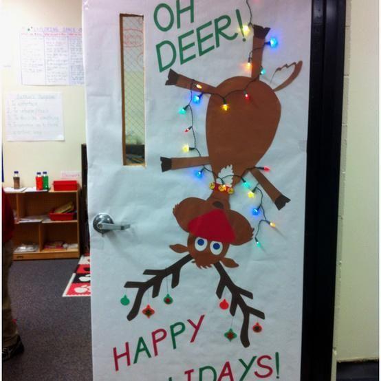 Oh Deer! - Christmas Bulletin Board