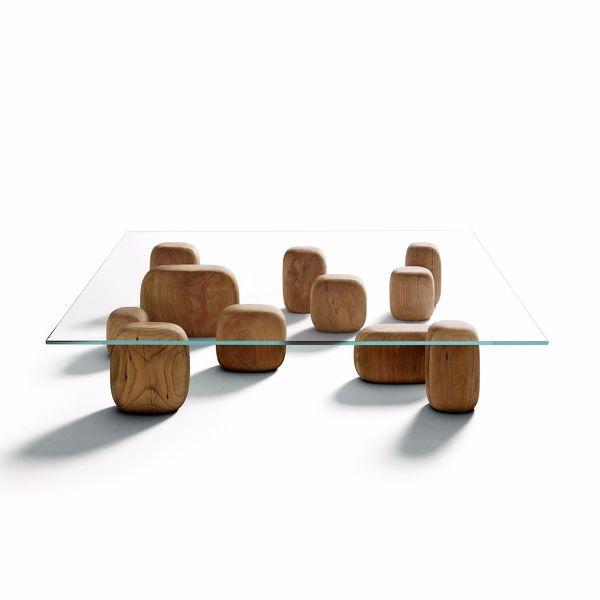 Ishi Coffee Table - design Nendo - De Padova