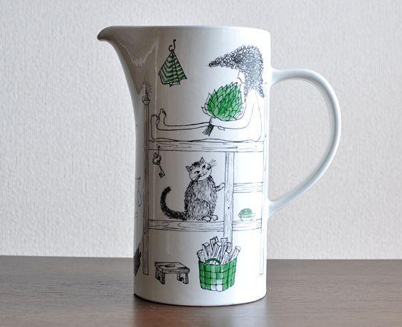Löyly jug by Gunvor Olin-Grönqvist for Arabia