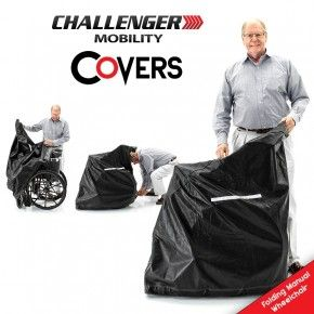Challenger Folding Manual Wheelchair Cover