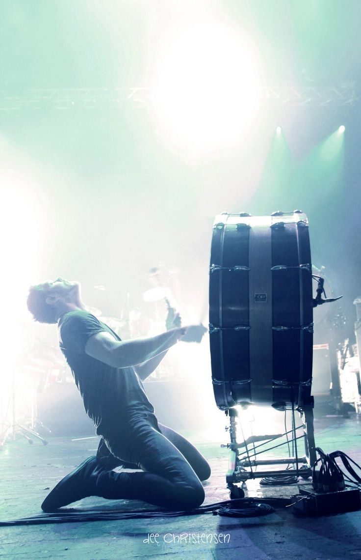 Imagine Dragons- i love it when Dan plays the drums. It's so beautiful to watch I just want to cry