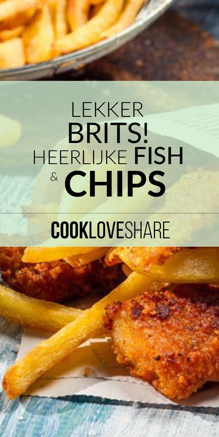 Lekker en heel erg simpel! Verplaats je naar Brighton Pier en geniet van Fish & Chips #cookloveshare #cook #love #share #kids #yummy