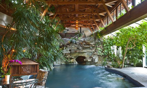 It S Like Greenhouse With A Pool Beautiful Places