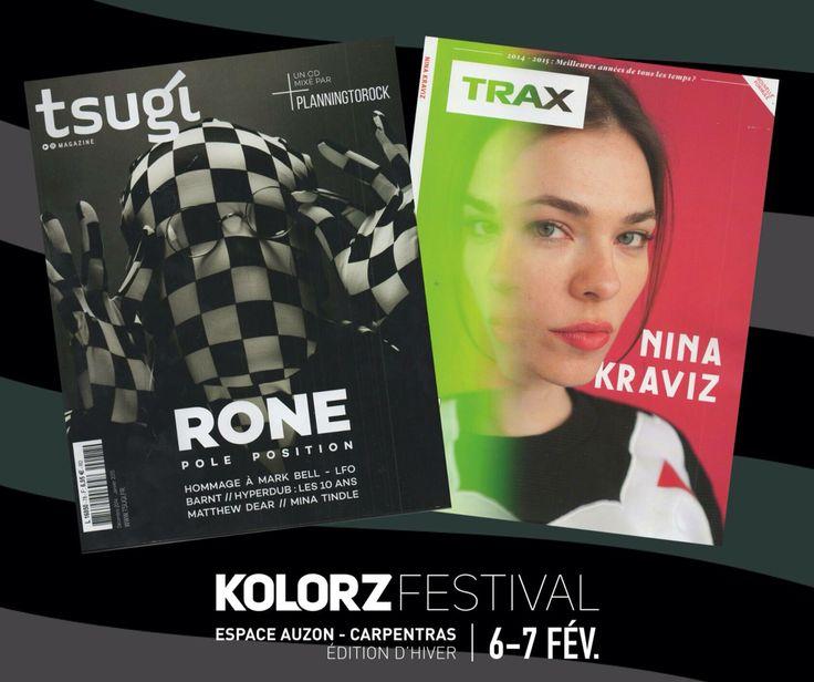 RONE & NINA KRAVITZ FESTIVAL KOLORZ CARPENTRAS 6 & 7 FEVRIER 2015