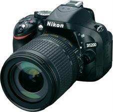 Lustrzanka Nikon D5200 Czarny + 18-105mm II - zdjęcie 1