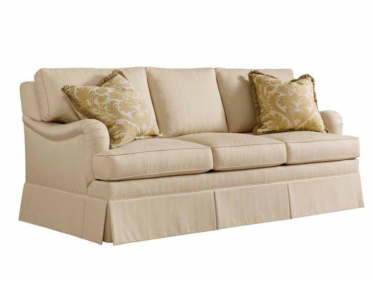 Henredon Living Room Haven Sleeper Sofa English Arm H0900-C - Englishman's Interiors - Dallas, TX