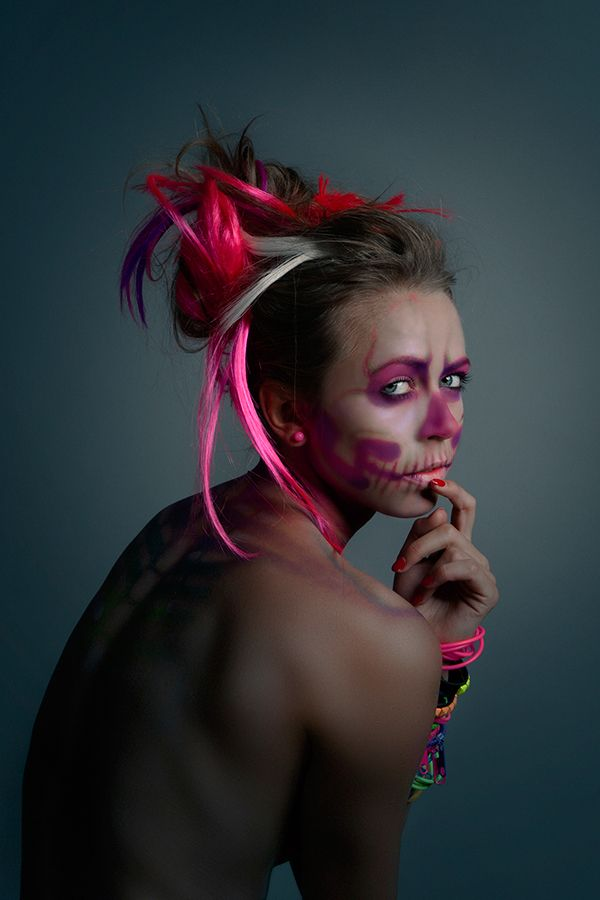 fluo decay on Behance